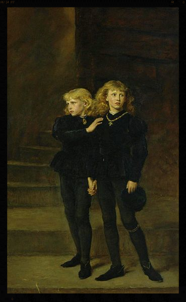 The Two Princes Edward and Richard in the Tower